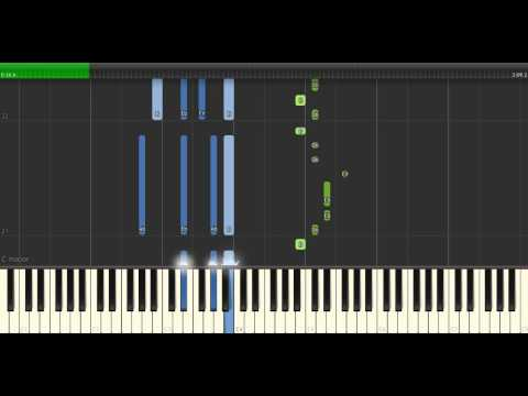 Tove Styrke - Borderline Piano Tutorial - Cover - How To Play - Synthesia