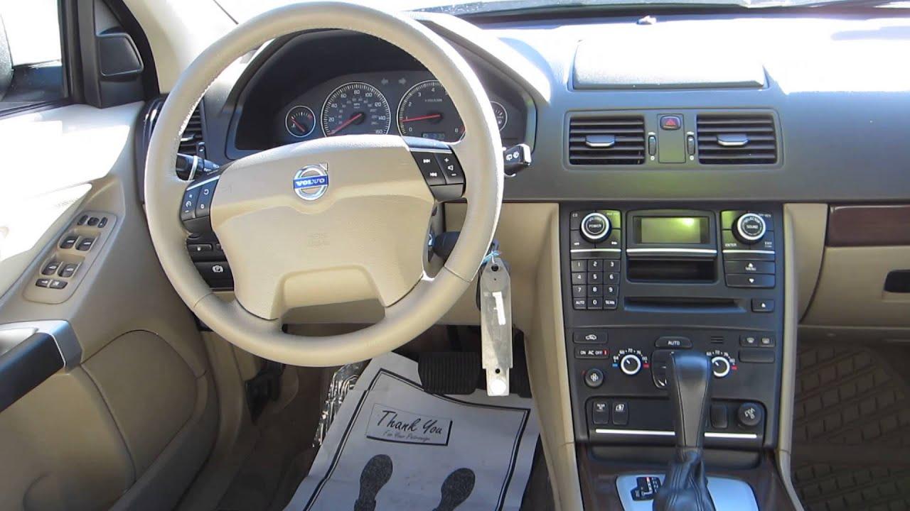 2010 volvo xc90  oyster grey metallic - stock  14012b - interior