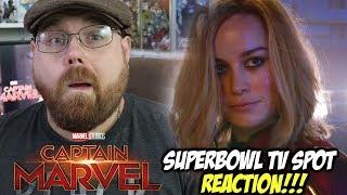 Captain Marvel Superbowl TV Spot - Reaction!!!