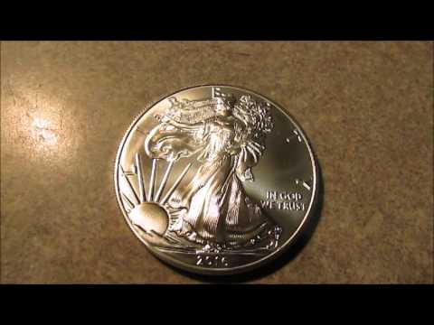 2016 American Silver Eagle NumizzzzZZZZzzzzmatic!