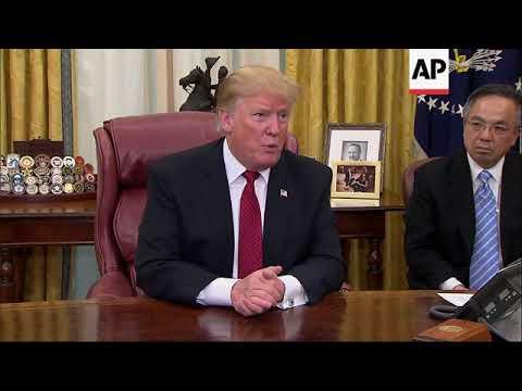 US trade rep. cites progress in China trade talks