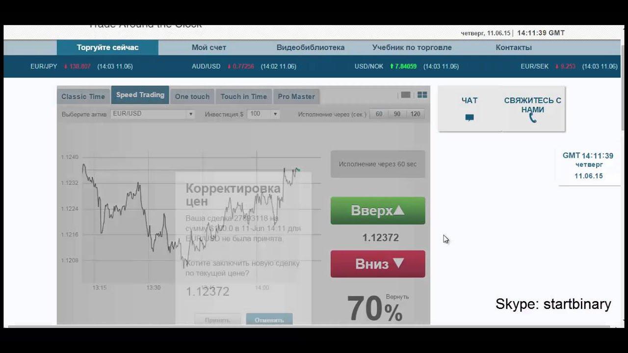 Бинарный опцион минута платформа криптовалют