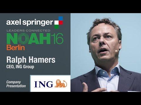 Ralph Hamers, ING Group - Axel Springer NOAH16 Berlin