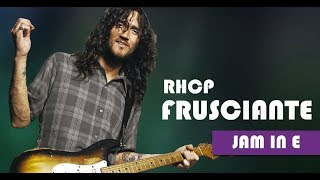 Red Hot Chilli Peppers - John Frusciante Style Backing Track Jam in E