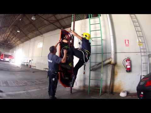 Practica de bomberos