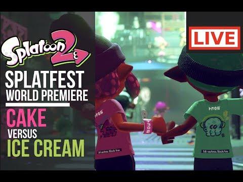 Splatoon 2 | Splatfest World Premiere: Cake VS Ice Cream