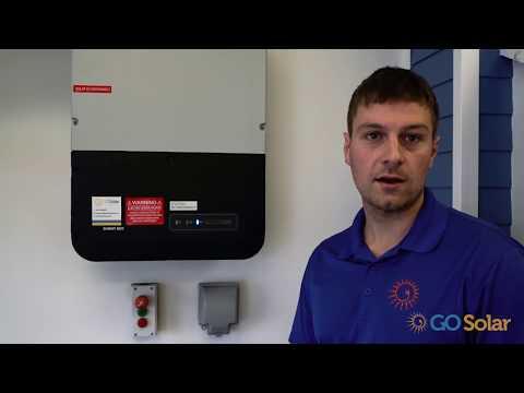 Solar Technician Colin Payne Explains the Inverter & Secure Power Supply