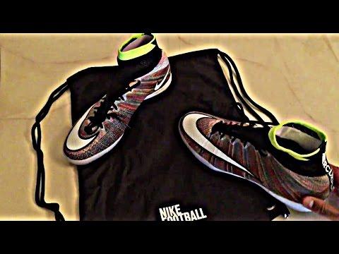 Nike MercurialX Proximo Street IC Multicolor UNBOXING by AzeKickerz