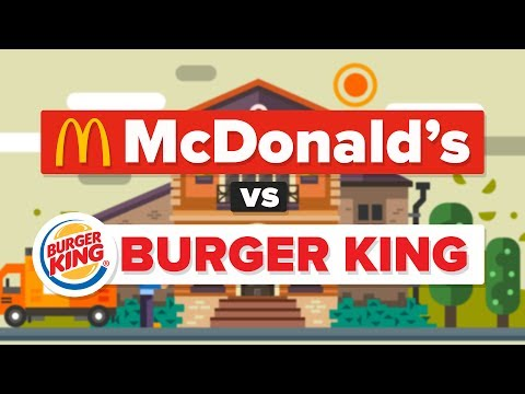 McDonald's vs Burger King What Is The Difference? Fast Food Restaurant Comparison