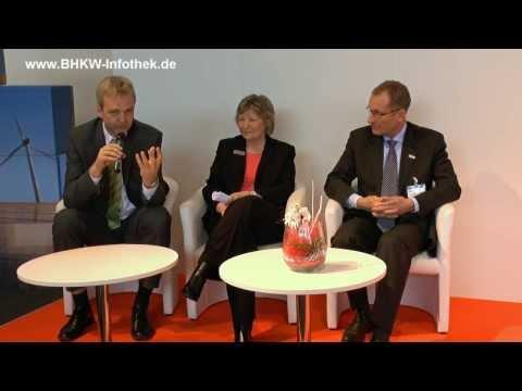 Begrüßung und Bericht zum Smart Grids Forum auf der Hannover Messe 2013