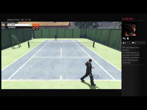 Gta 5 tennis - live on ps4