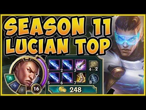 WTF! SEASON 11 LUCIAN = NO DASH COOLDOWN? UNLIMITED PERMA DASH LUCIAN GAMEPLAY! - League of Legends