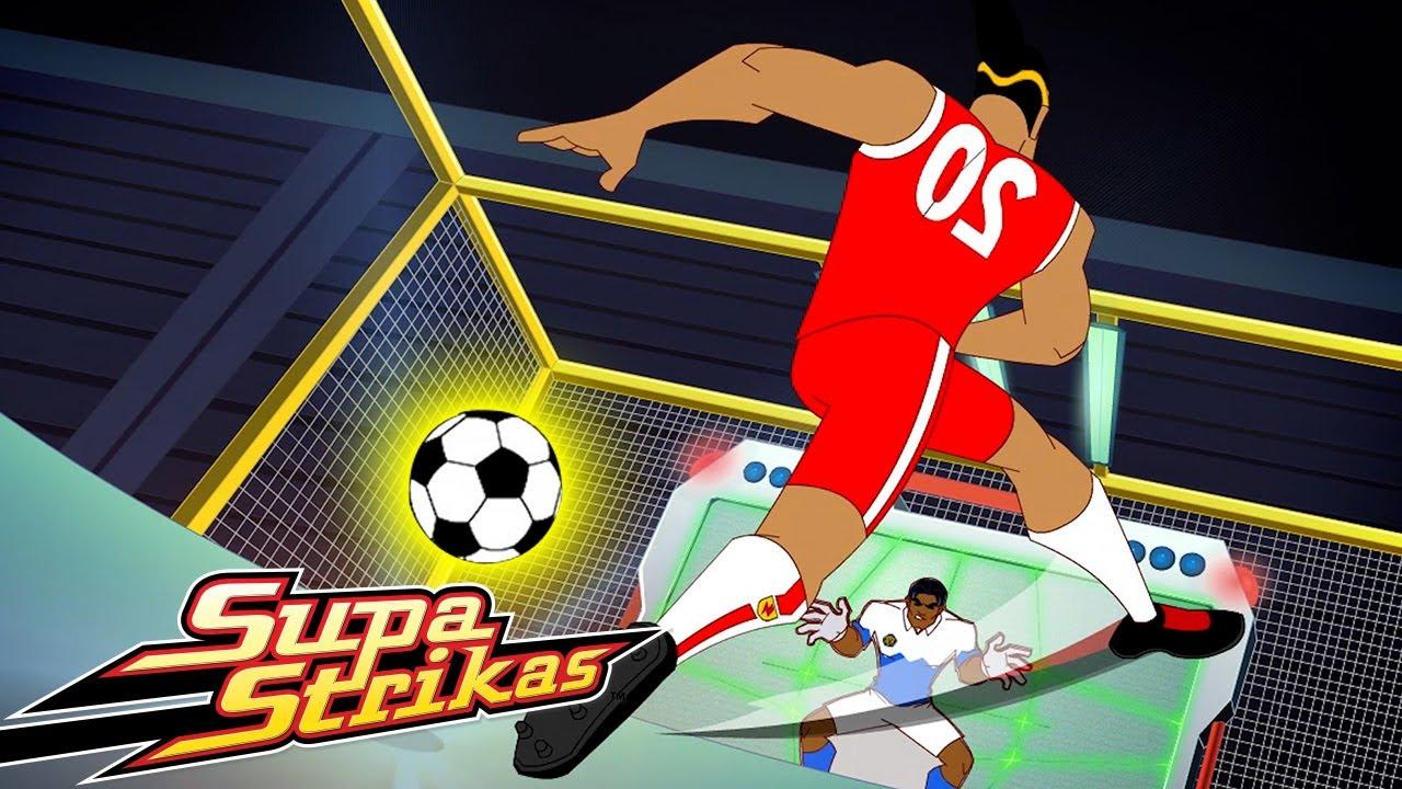 Supa Strikas | Der Klang der Stille | Ganze Folgen | Fußball - Cartoons für Kinder