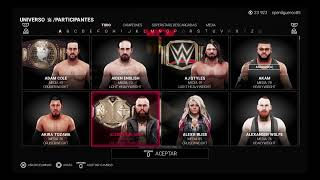 Wwe 2k19 ROYAL RUMBLE DE CABEZONES