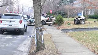 Two people injured in West Brighton accident
