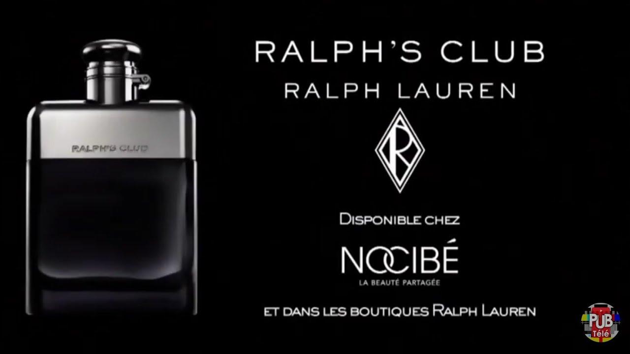 """Musique pub Ralph's Club Ralph Lauren """"disponible chez Nocibé""""  juillet 2021"""