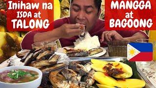 PRITONG TALONG! BAGOONG! MANGGA! INIHAW NA ISDA! SABAW NG BULALO! Filipino Food. MUKBANG!