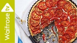 Tomato and Spinach Tart | Waitrose