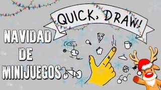 DIBUJOS PERFECTOS | QUICK, DRAW! | NAVIDAD DE MINIJUEGOS