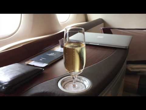 Singapore Airlines Suites (First) Class A380-800 - Frankfurt to New York's JFK