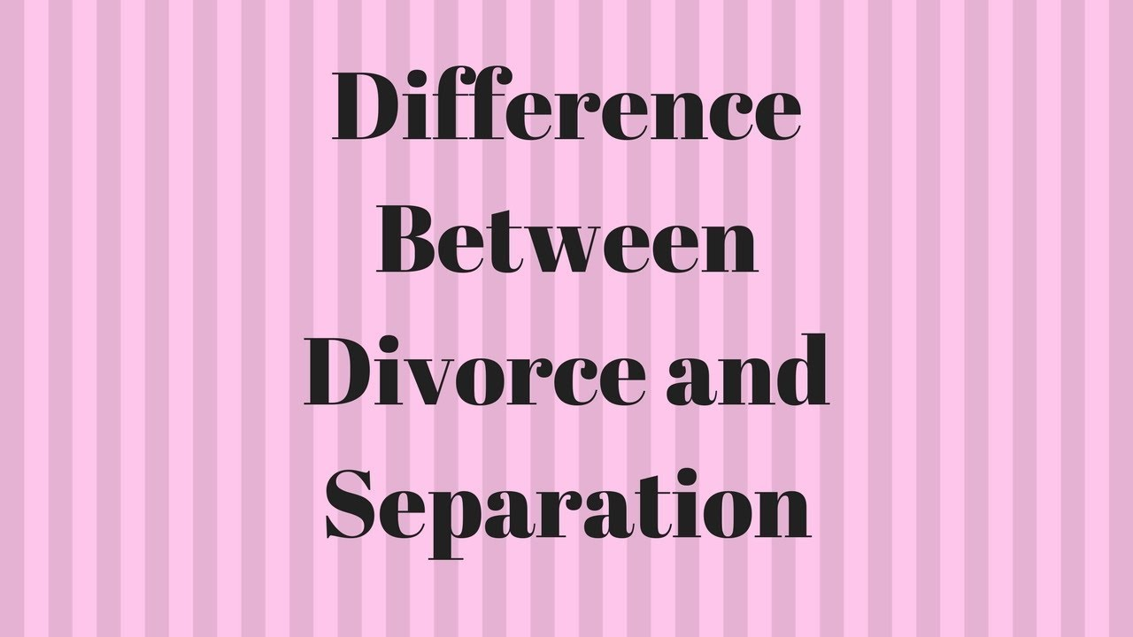After separation reconciliation successful Can Separated
