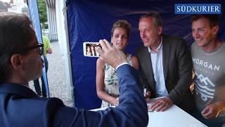 Die besten Szenen vom VS-Forum mit Christian Streich vom SC Freiburg