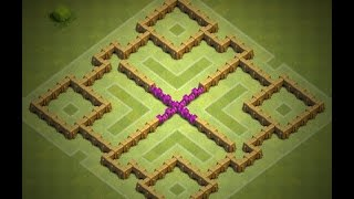 Clash of Clans - Town Hall 6 Farming Base