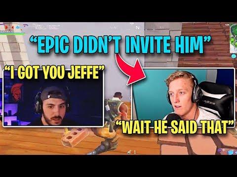 Tfue gets EMOTIONAL after NickMercs DEFENDS Him Against Epic Games!