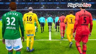 pES 2020 PSG x Saint-tienne - Copa da Liga Francesa (08/01/2020) PES 2020 GamePlay