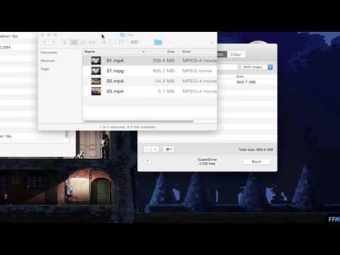 แปลงไฟล์MP4เป็นหนังDVDฟรีบนMac