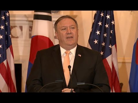 Secretary of State Mike Pompeo has IMPORTANT Press Conference with South Korea