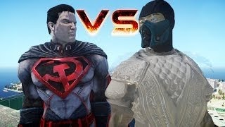 Injustice Red Son Superman Vs Iron-man Igor Mark 38 - Epic Battle
