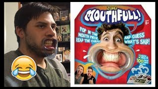 Playing the game Mouthfull! + It was Hilarious! | Game Night