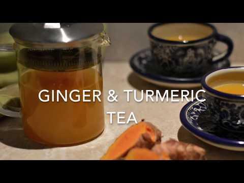 Edible Door turmeric ginger tea