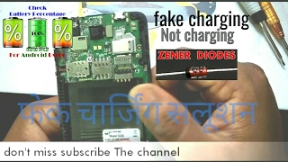Android smartphone fake charging solution and charging errors solutions micromax D320
