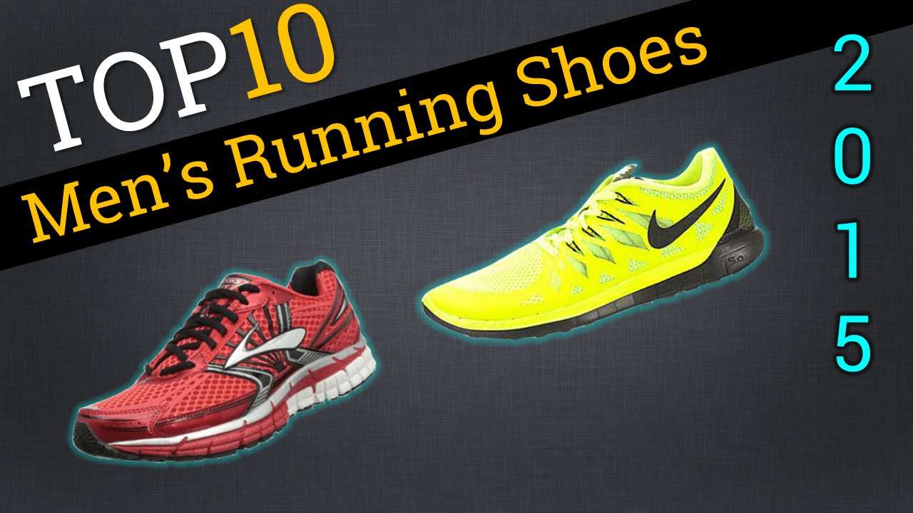 Top 10 Men's Running Shoes 2015 | Best Runners Shoe Review - YouTube