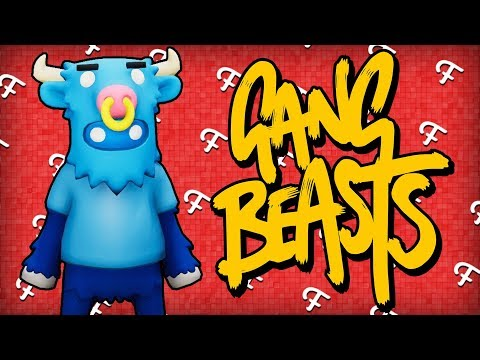 Gang Beasts: Sun Tanning, No Violence Only Peace, Fran's Twin! (Online - Comedy Gaming)