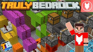 Truly Bedrock SMP : S2 - E10 - New Gambling Machine! (All or Nothing - Redstone Mini Game)