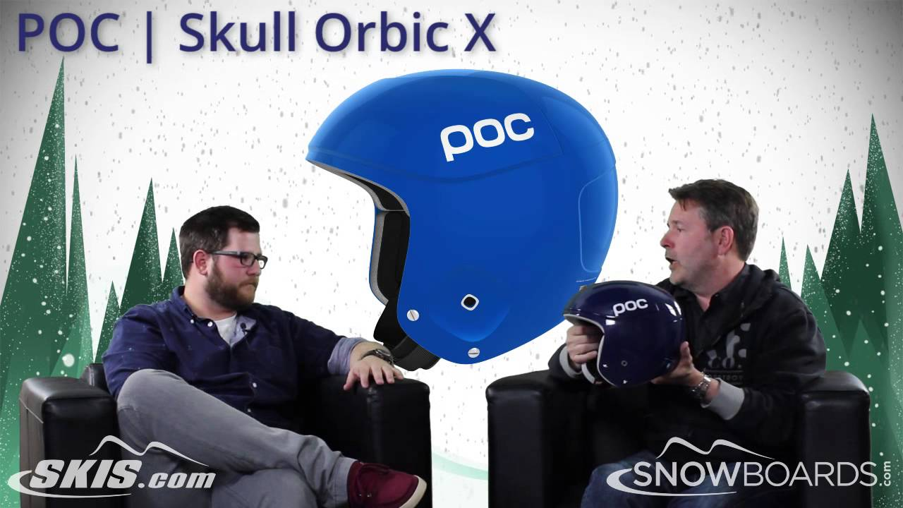 2017 POC Skull Orbic X and Orbic Comp Helmet Overview by SkisDOTcom and  SnowboardsDOTcom 535354c939e