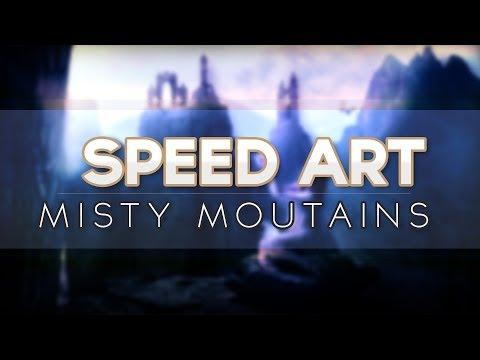 [SpeedArt] Misty Moutains
