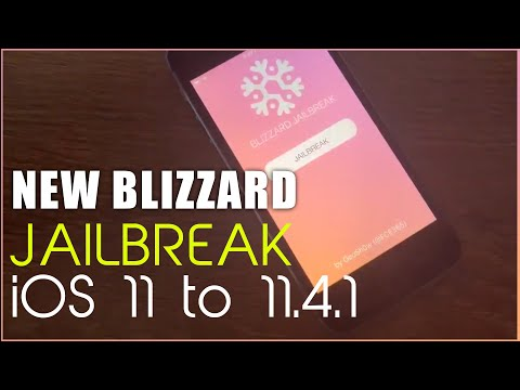 New blizzard Jailbreak for iOS 11 – iOS 11.4.1 | by GeoSn0w