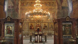 Божественная литургия 22 мая 2020 г., Сретенский мужской монастырь, г. Москва