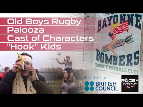 """Years Collide: Old Boys Rugby Palooza/Cast of Characters """"Hook"""" Kids"""