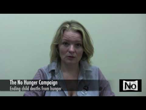 Cara Seymour Endorsing the No Hunger Campaign