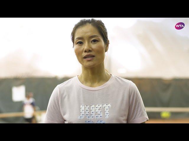Li Na discusses the 2019 WTA Finals Shenzhen