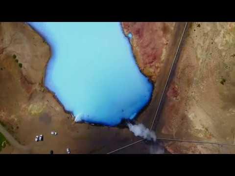 Iceland 4k  Mavic pro drone Aerial video