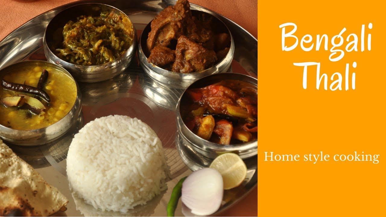 Bengali home style cookingbengali non veg thali lunch recipe bengali home style cookingbengali non veg thali lunch recipe forumfinder Image collections