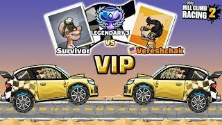 Hill Climb Racing 2 - BOSS Level and VIP Challenges | GamePlay