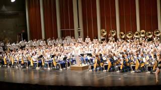 WVU Marching Band Keynotes Concert 11-30-2015