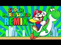 Download SUPER MARIO WORLD - OVERWORLD THEME SONG REMIX [PROD. BY ATTIC STEIN] MP3 song and Music Video